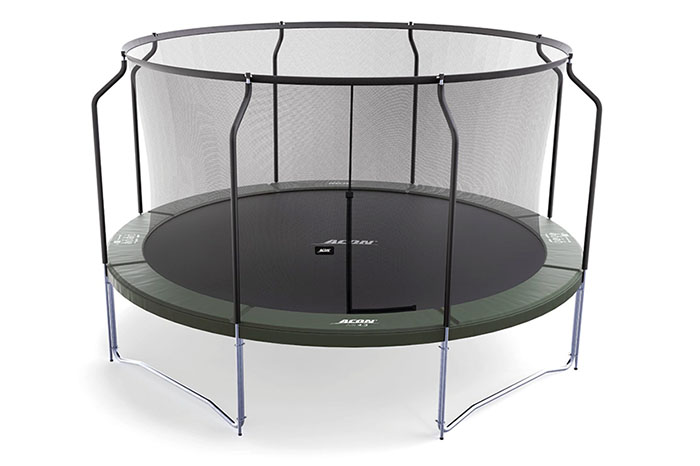 Acon 14 foot trampoline whitebg700