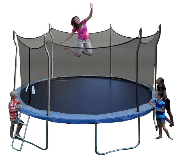 Kinetic 12ft trampoline